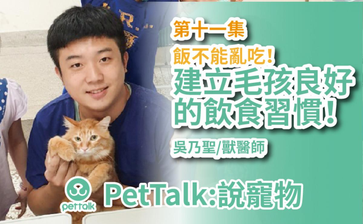 PetTalk說寵物|飯不能亂吃!建立毛孩良好的飲食習慣 【吳乃聖 獸醫師】