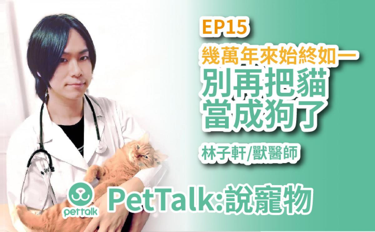 PetTalk說寵物|別再把貓咪當狗養了,貓咪行為動作大解讀!【林子軒 獸醫師】